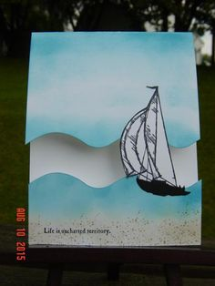 Sailing 'gap' card by Redbugdriver - Cards and Paper Crafts at Splitcoaststampers