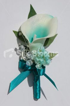 Shop Modern Jade Green Orchid Wedding Corsage with Climbing Clover online from Silk Blooms at just £ It is an online artificial wedding flowers store in UK. Teal Wedding Flowers, Lily Wedding, Prom Flowers, Bridal Flowers, Flower Bouquet Wedding, Teal Flowers, Blue Wedding, Green Orchid, Jade Green