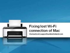 Fixing lost Wi Fi connection of Mac | Apple Support Ireland