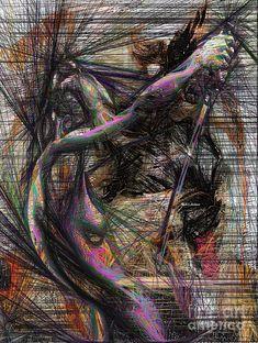 Rafael Salazar Digital Art - Abstract Sketch 1334 by Rafael Salazar
