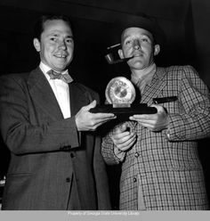 JOHNNY MERCER and BING's friendship started when JOHNNY replaced BING as singer in THE PAUL WHITEMAN ORCHESTRA.