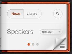 Dribbble - iPad App Teaser by Matias Gallipoli