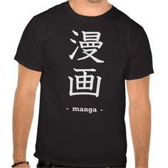 Manga Tee Shirts