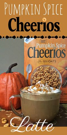 I am still savoring plenty of pumpkin, including this scrumptious Pumpkin Spice Cheerios Latte. Get the full recipe, along with Cheerios fun facts and some big flavor news. Thanksgiving Recipes, Fall Recipes, Most Popular Recipes, Favorite Recipes, Pumpkin Spice Cheerios, Yummy Drinks, Refreshing Drinks, Dessert Recipes, Drink Recipes