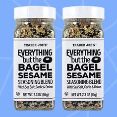 0 SP Healthy Must-Buys at Trader Joe's: Everything but the Bagel Sesame Seasoning Blend with Sea Salt, Garlic & Onion Trader Joe's, Trader Joes Food, Gourmet Recipes, Real Food Recipes, Healthy Recipes, Keto Recipes, Healthy Foods, Free Recipes, Bagels