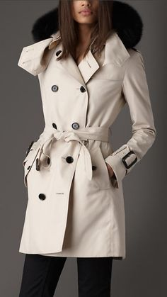Love this DKNY Coat Military Double-Breasted Wool-Blend - Womens