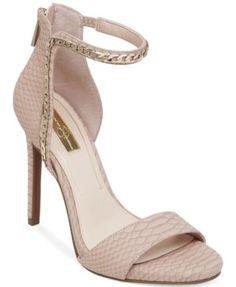 Jessica Simpson Redith Asymmetrical Chain Platform Sandals