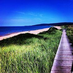 Loving walking this boardwalk. Inverness Nova Scotia, Inverness Cape, East Coast Travel, East Coast Road Trip, Enchanted Island, Atlantic Canada, Cape Breton, Panama City Panama, Canada Travel