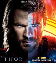 Thor in 2011 to Thor: Ragnarok in 2017 Marvel Heroes, Marvel Characters, Marvel Avengers, Dc Movies, Marvel Movies, Chris Hemsworth Thor, The Mighty Thor, Loki Thor, The Villain