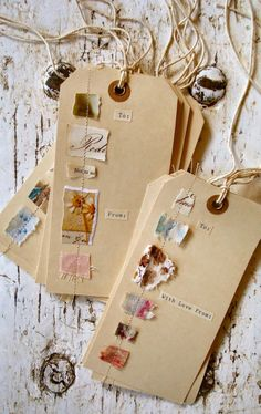 DIY Stash Buster Karten aus A Mermaid& Tale. Wenn Sie in Portscatho, Cornwal . DIY Stash Buster Karten aus A Mermaid's Tale. Wenn Sie in Portscatho, Cornwal . Recycled Crafts, Diy And Crafts, Diy Gifts, Handmade Gifts, Ideias Diy, Mail Art, Fabric Scraps, Fabric Tags, Paper Scraps