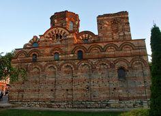 Byzantine architecture   Nessebar 13th and 14th-century   Christ Pantocrator Church  