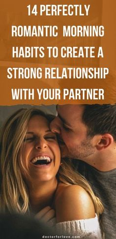 14 Perfectly Romantic Morning Habits To Create a Strong Relationship With Your Partner ! 14 Perfectly Romantic Morning Habits To Create a Strong Relationship With Your Partner ! Marriage Goals, Successful Relationships, Marriage Relationship, Toxic Relationships, Happy Marriage, Marriage Advice, Healthy Relationships, Healthy Marriage, Marriage Romance