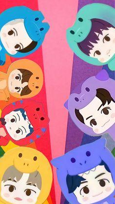 Baby Pink Aesthetic, Nct Dream Jaemin, Nct Doyoung, Nct Life, Lucas Nct, Dinosaur Art, Jisung Nct, Cute Animal Drawings, Galaxy Wallpaper