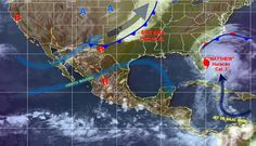 Lluvias en diversos estados de la República Mexicana hoy viernes - e-oaxaca Periódico Digital de Oaxaca