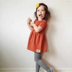 Persimmon Swing Top from Wildly Co. Kids Outfits, Cute Outfits, Swing Top, Made Clothing, Our Kids, Little People, Kids Wear, Bunt, Cute Dresses