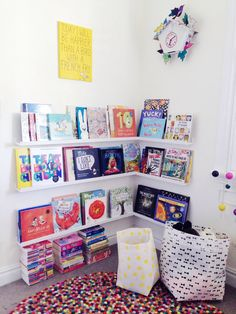 The Little Design Corner | Colourful shared girls room | Playroom | Purple and Yellow | Modern bunk bed | Oeuf | Kids bedroom