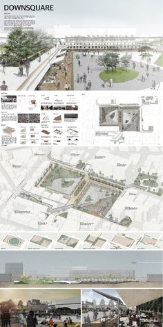 Architectural Layout Presentation - Welcome my homepage Concept Board Architecture, Architecture Presentation Board, Urban Architecture, Photoshop, Architectural Thesis, Presentation Board Design, Planer Layout, Architecture Visualization, Urban Design Plan