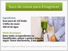 Suco verde para emagrecer (suco de couve)