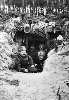 All was mercifully quiet on the eastern front for Russian officers guarding the Carpathians, the mountains between their motherland and Hungary. Manpower was not an issue - in 1914, after 125,000 Russians were capture by the Germans at Tannenberg, Czar Nicholas II just ordered more serfs drafted - but firepower was: 1/3 of the men lacked guns. By the end of the war, Russian's dead, wounded or captured exceeded nine million troops.
