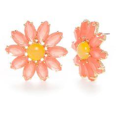 Kate Spade New York Multi Flower Stud Earrings ($58) ❤ liked on Polyvore featuring jewelry, earrings, multi, kate spade jewelry, flower earrings, earrings jewellery, kate spade earrings and kate spade