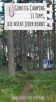 So findest du günstige Campingplätze!