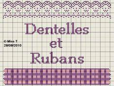 brodeuse - embroiderer - étiquette - dentelles - rubans - point de croix - cross stitch - Blog : http://broderiemimie44.canalblog.com/