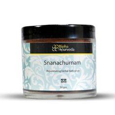 snanachurnam - Regenerating herbal bath scrub  http://www.biphaayurveda.com