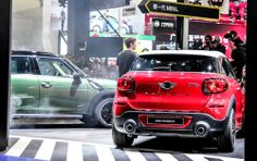 The new MINI Paceman premieres at the International Beijing Auto Show.