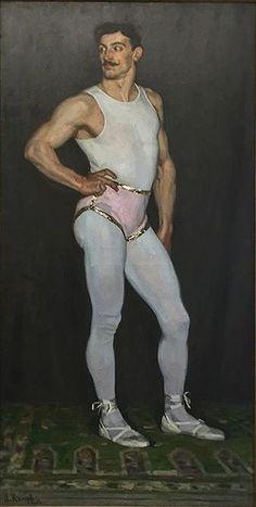 The acrobat (Man in pink) - Arthur Kampf - Oil on canvas - 1907 ~~~ DeSimoneWayland Senior Girl Photography, Queer Art, Max Ernst, Art Of Man, Illustration Mode, Portraits, Gay Art, Funny Art, Figure Painting