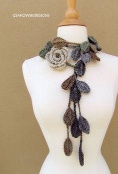 rose scarf
