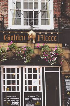York -The Golden Fleece Inn. The Golden Fleece Inn was featured on the television show Most Haunted, which features a golden ram in it's logo.