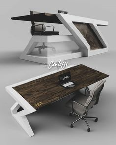 Office Table And Chairs, Office Table Design, Reception Desk Design, Office Space Design, Office Furniture Design, Foyer Design, Welded Furniture, Industrial Furniture, Table Furniture