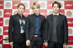JYJ - Press Conference for Japan Dome Tour in Tokyo (141119)