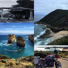 Had the tremendous pleasure to ride a motorcycle on the 243km (151mi) Great Ocean Road in Victoria Australia. One of the most scenic drives on the planet. #BucketList #GreatOceanRoad #LeTourDuMonde by dshimsham