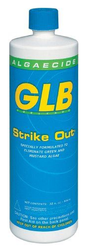GLB Pool  Spa Products 71114 1Quart Strike Out Algaecide -- Read more at the image link. This is Amazon affiliate link. #DIY