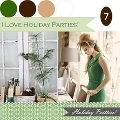 so looking forward to holiday parties! http://www.theperfectpalette.com/2011/12/when-it-comes-to-holidays-i-think-its.html