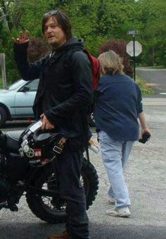 Norman Reedus I so wanna ride with him!!