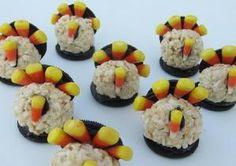 Turkey Rice Krispie Treats by allyummyrecipes
