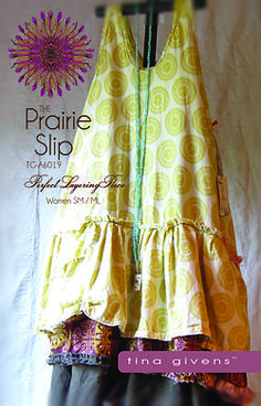 Prarie Slip   Tina Givens Printed patterns