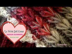 le très beau point du joli cœur - La Grenouille Tricote