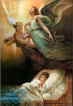 Angel de la guarda en todo momento guardame.