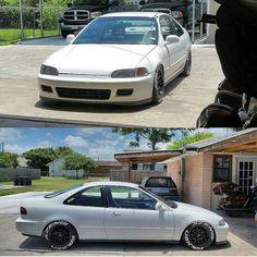 Honda civic eg coupe Honda Civic Coupe, Civic Sedan, My Dream Car, Dream Cars, Honda Acura, Civic Jdm, Pt Cruiser, Japan Cars, Jdm Cars