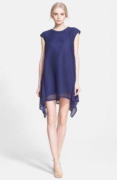 Rachel Zoe 'Steff' Stripe Shark Bite A-Line Dress available at #Nordstrom