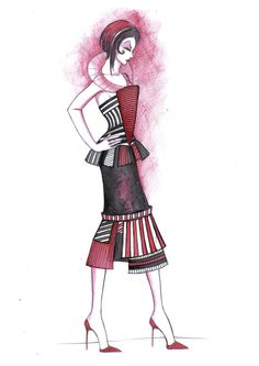 fashion sketch 7 by Inese
