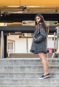 Scuba by mairiboo! Get The Look, Friday, Zipper, Sweaters, Jackets, Dresses, Fashion, Down Jackets, Vestidos