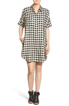 $58.80 Buffalo Check Shirt Dress, Madewell | Nordstrom
