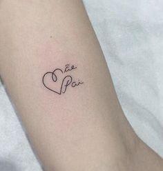 Tattoo of Baby Names J Tattoo, Dad Tattoos, Tatoo Art, Wrist Tattoos, Love Tattoos, Beautiful Tattoos, Body Art Tattoos, Tattoos For Women, Tatoos
