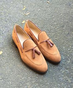 You need these  Cognac tasseled loafers. Online at FelixFlair.com (at New York, New York)