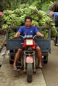 Banana Mobile, Mazan, Peru