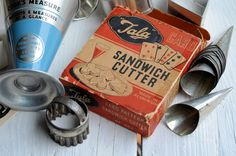 "Made in England"" Vintage Kitchenalia: Old Tins, Icing Sets and ..."
